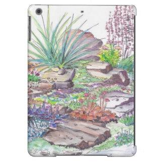 Alpine Garden Landscaping iPad Air Cases
