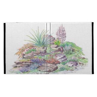 Alpine Garden Landscaping iPad Folio Case