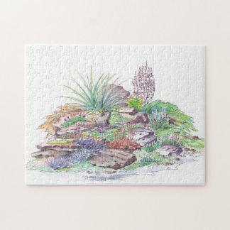 Alpine Garden Landscaping Jigsaw Puzzles