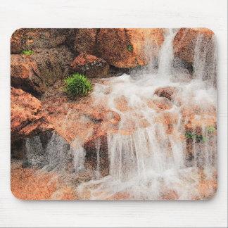 Alpine Garden Waterfall Mousepad