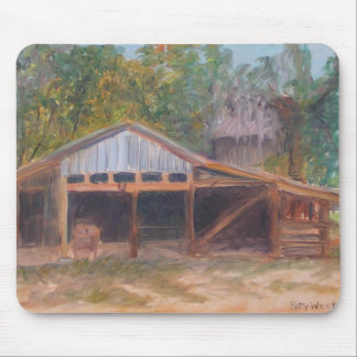 ALPINE GROVES FRUIT PACKING SHED Mousepad