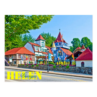 Alpine Helen, Georgia, USA. Postcard