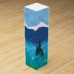 Alpine holiday wine boxes