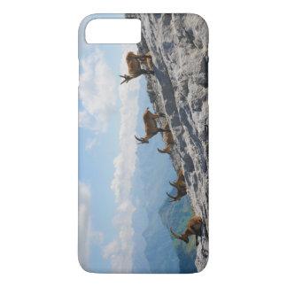 Alpine Ibex Wild Mountain Goats iPhone 8 Plus/7 Plus Case