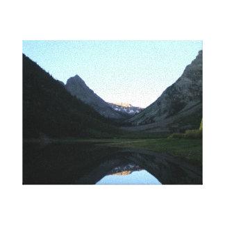 Alpine Lake 2 Canvas Print