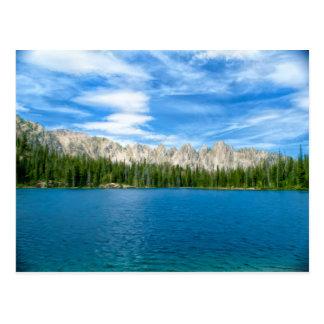Alpine Lake and the Sawtooths Postcard
