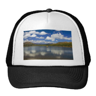 Alpine Lake on the Continental Divide Hat