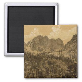 Alpine Lake, Sierra Nevada Magnet
