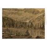 Alpine Lake, summit of Cerro Blanco Cards