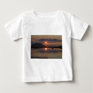 Alpine Lake Sunset Baby T-Shirt
