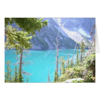 Alpine Lakes Wilderness Greeting Card