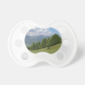 Alpine landscape pacifier
