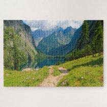 Alpine Mountain Pass Germany. Jigsaw Puzzle