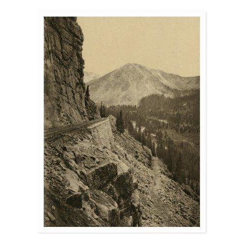 Alpine Pass Postcard