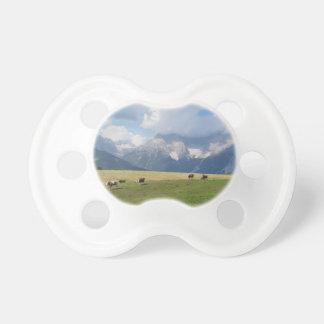 Alpine pasture pacifier