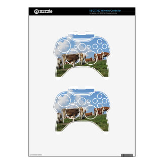Alpine pasture with cows xbox 360 controller skin