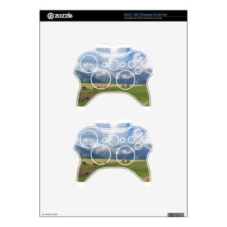 Alpine pasture xbox 360 controller skin