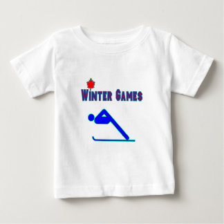 Alpine Skiing Baby T-Shirt