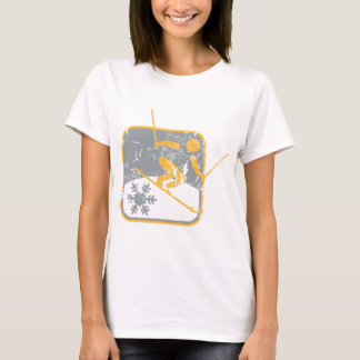 Alpine_skiing_dd_used.png T-Shirt