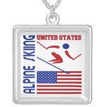 Alpine Skiing United States Custom Jewelry