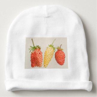 Alpine Strawberry Trio Baby Beanie