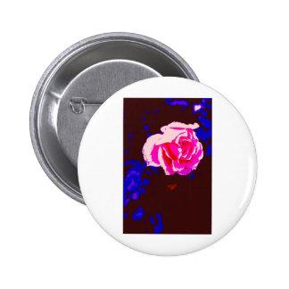 Alpine Sunset Chintz Rose Pin