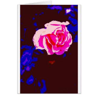 Alpine Sunset Chintz Rose Card