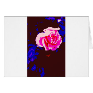 Alpine Sunset Chintz Rose Greeting Cards