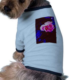 Alpine Sunset Chintz Rose Dog Tee Shirt