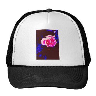 Alpine Sunset Chintz Rose Mesh Hat