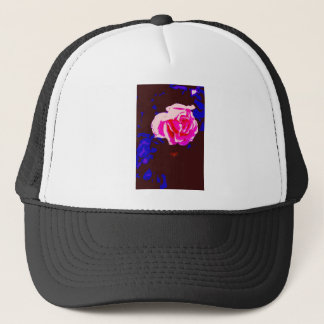 Alpine Sunset Chintz Rose Trucker Hat