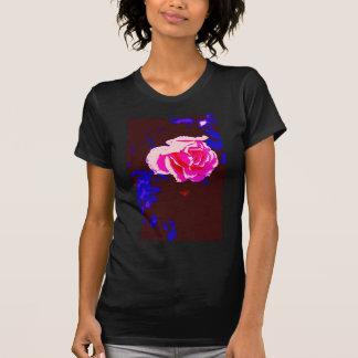 Alpine Sunset Chintz Rose T Shirts