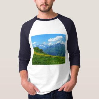 Alpine view in Switzerland T-Shirt