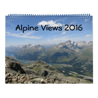 Alpine Views Calendar 2016