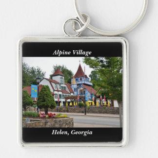 Alpine Village Helen, Georgia Keychain