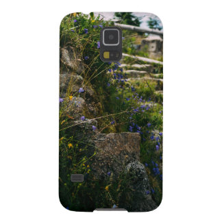 Alpine Wild Flowers On A Hiking Road Case For Galaxy S5