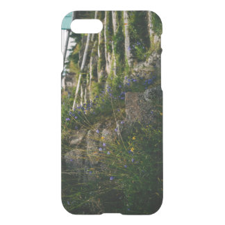 Alpine Wild Flowers On A Hiking Road iPhone 7 Case
