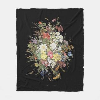 Alpine Wildflower Flowers Edelweiss Fleece Blanket