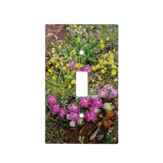Alpine Wildflower Light Switch Cover