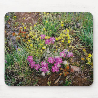 Alpine Wildflowers Mouse Pad