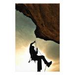 alpinismo del montañés del escalador papeleria