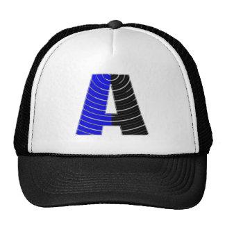 Alplhabet Soup A - Decorative Vowels Consonents Trucker Hat