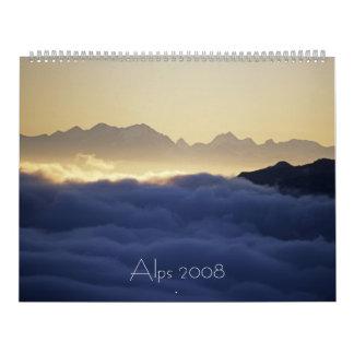 Alps 2008 calendar