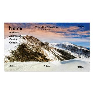 Alps Business Card