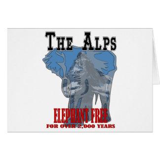 Alps - Elephant Free Card