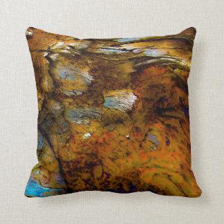 """Alps On Wood"" JTG Art Pillow"