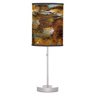 """""""Alps On Wood"""" JTG Art Table Lamp"""