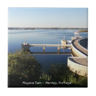 Alqueva Dam - Alentejo, Portugal Tile