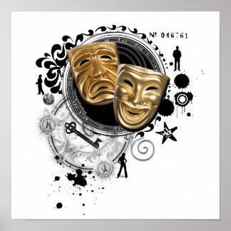 Alquimia de las máscaras temporarias del drama poster