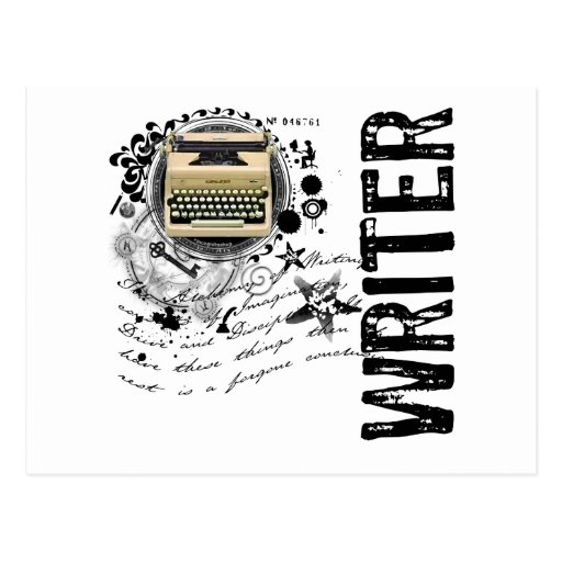 Alquimia del escritor postales